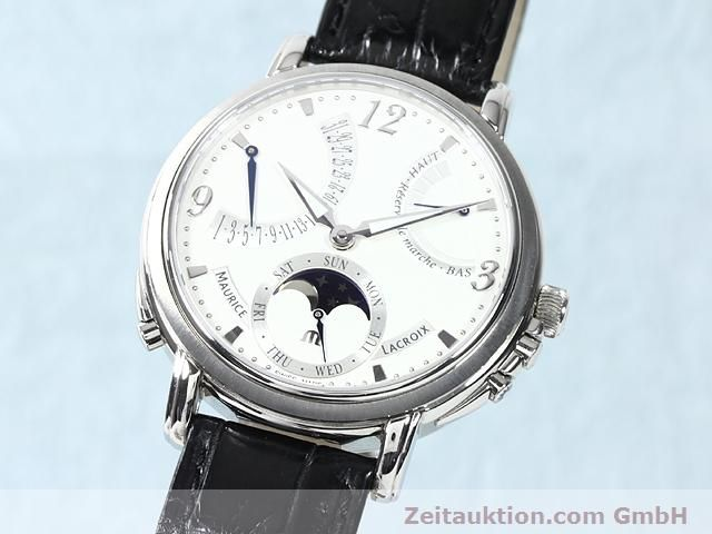 Used luxury watch Maurice Lacroix Masterpiece steel manual winding Kal. ML 104 Ref. MP7078  | 140137 04