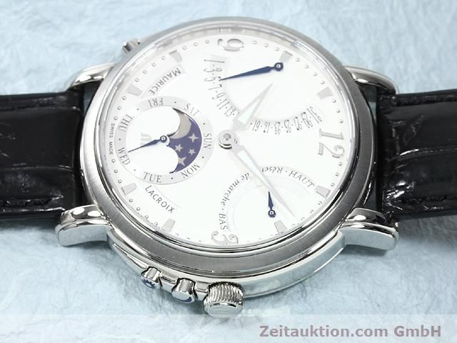 Used luxury watch Maurice Lacroix Masterpiece steel manual winding Kal. ML 104 Ref. MP7078  | 140137 05