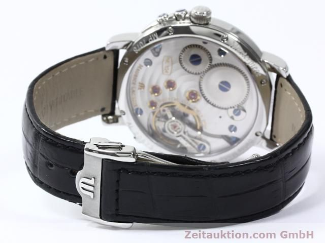 Used luxury watch Maurice Lacroix Masterpiece steel manual winding Kal. ML 104 Ref. MP7078  | 140137 12