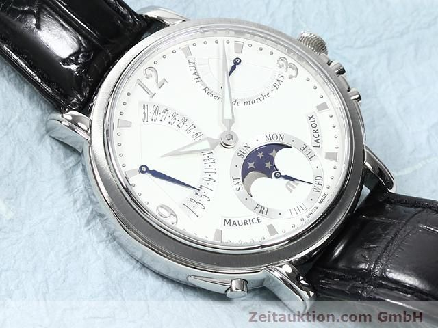Used luxury watch Maurice Lacroix Masterpiece steel manual winding Kal. ML 104 Ref. MP7078  | 140137 14