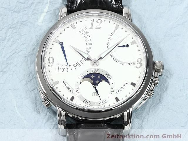 Used luxury watch Maurice Lacroix Masterpiece steel manual winding Kal. ML 104 Ref. MP7078  | 140137 15