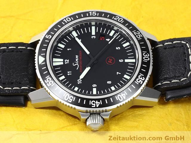 Used luxury watch Sinn EZM3 steel automatic Ref. 603.4072  | 140138 05