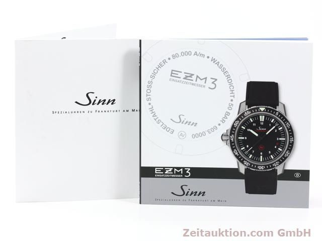 Used luxury watch Sinn EZM3 steel automatic Ref. 603.4072  | 140138 08