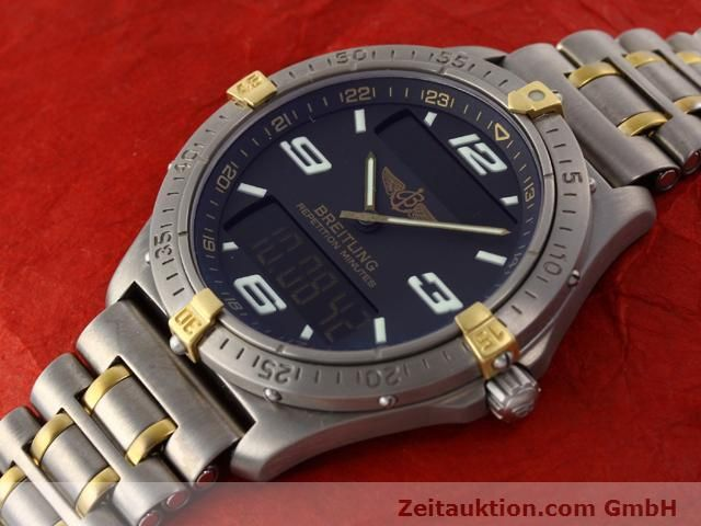 Used luxury watch Breitling Aerospace titanium / gold quartz Ref. F65062  | 140142 01