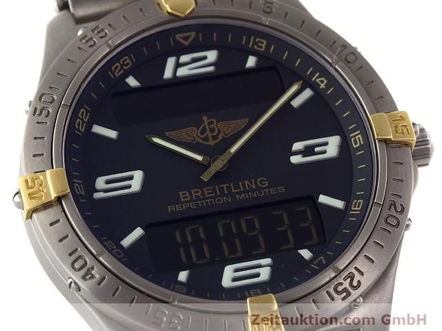 Used luxury watch Breitling Aerospace titanium / gold quartz Ref. F65062  | 140142 02