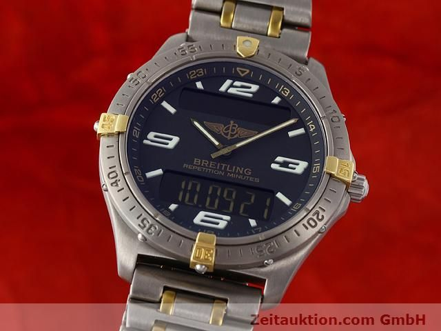 Used luxury watch Breitling Aerospace titanium / gold quartz Ref. F65062  | 140142 04