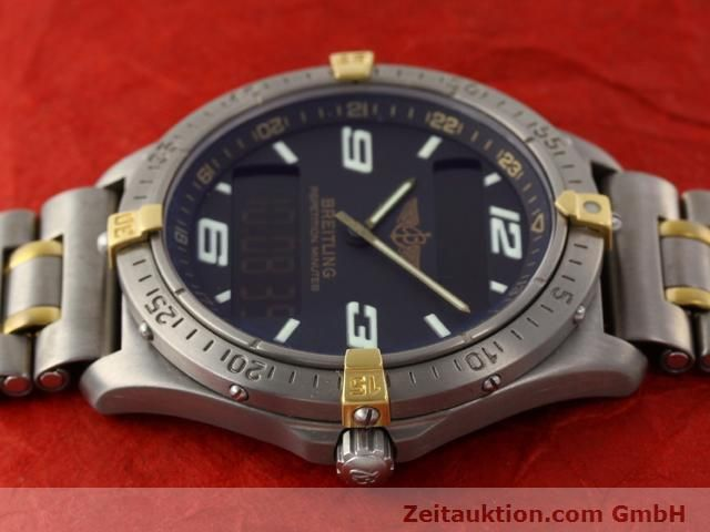 Used luxury watch Breitling Aerospace titanium / gold quartz Ref. F65062  | 140142 05