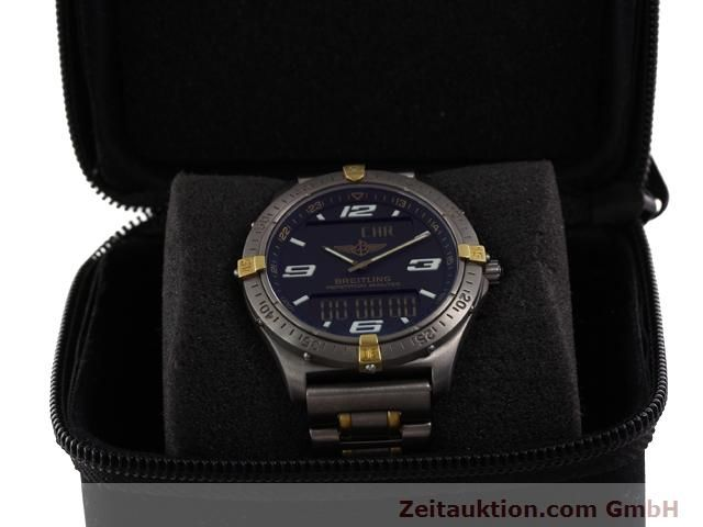 Used luxury watch Breitling Aerospace titanium / gold quartz Ref. F65062  | 140142 07