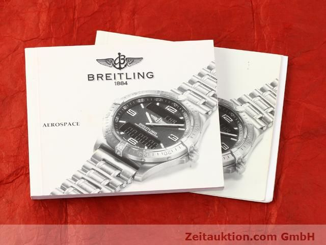 Used luxury watch Breitling Aerospace titanium / gold quartz Ref. F65062  | 140142 12