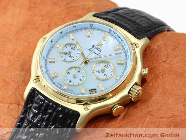 Used luxury watch Ebel 1911 18 ct gold automatic Kal. 134 (400 El Primero) Ref. 8134901  | 140143 01