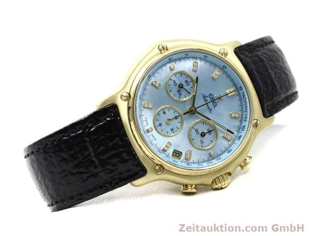 Used luxury watch Ebel 1911 18 ct gold automatic Kal. 134 (400 El Primero) Ref. 8134901  | 140143 03
