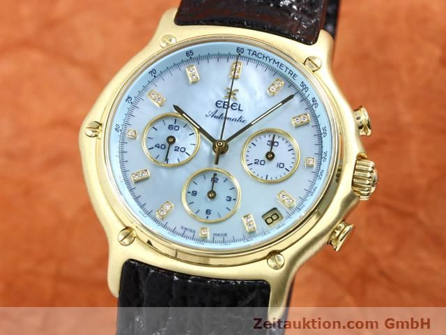 Used luxury watch Ebel 1911 18 ct gold automatic Kal. 134 (400 El Primero) Ref. 8134901  | 140143 04