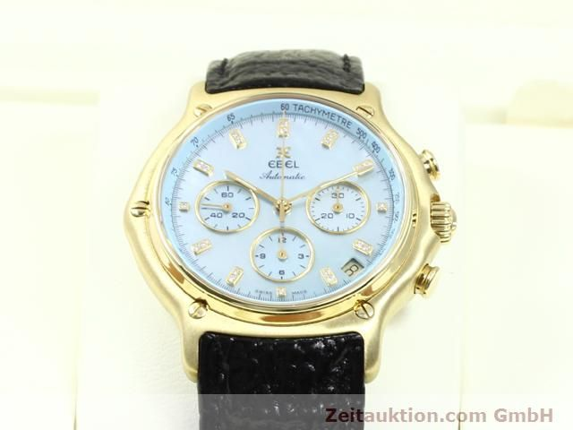 Used luxury watch Ebel 1911 18 ct gold automatic Kal. 134 (400 El Primero) Ref. 8134901  | 140143 07