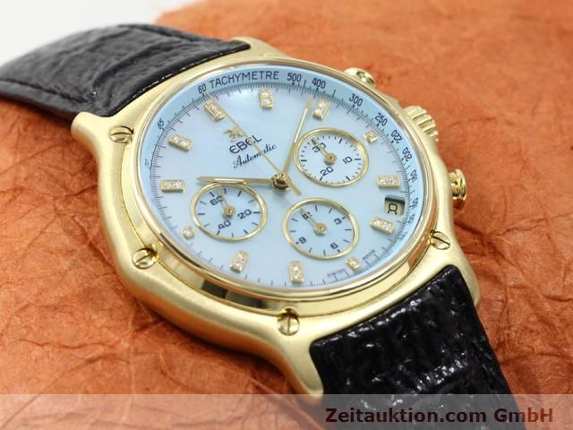 Used luxury watch Ebel 1911 18 ct gold automatic Kal. 134 (400 El Primero) Ref. 8134901  | 140143 15