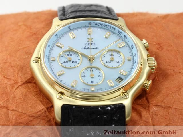 Used luxury watch Ebel 1911 18 ct gold automatic Kal. 134 (400 El Primero) Ref. 8134901  | 140143 16