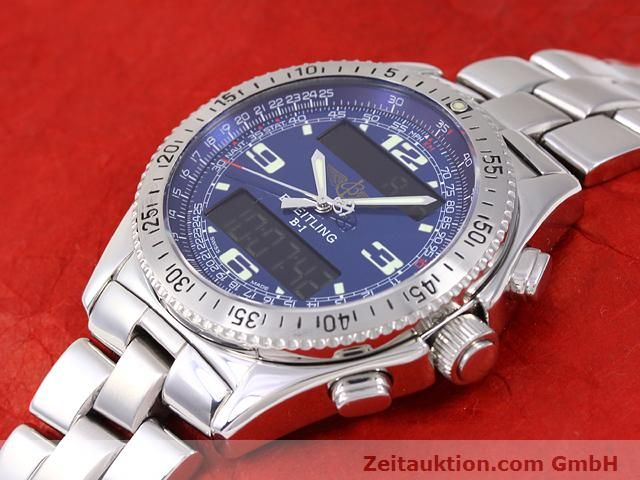Used luxury watch Breitling B1 steel quartz Kal. ETA E20331 Ref. A68362  | 140144 01