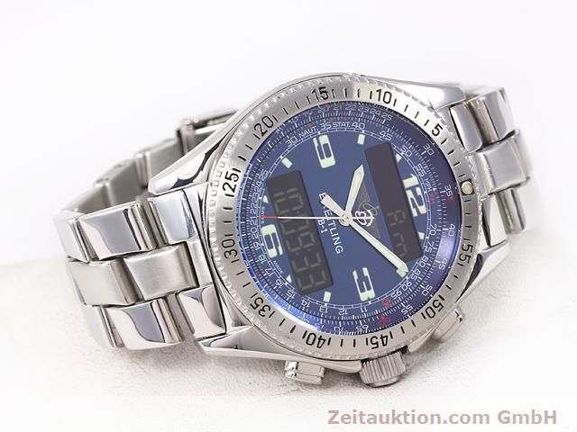 Used luxury watch Breitling B1 steel quartz Kal. ETA E20331 Ref. A68362  | 140144 03