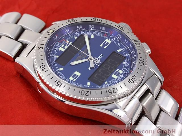 Used luxury watch Breitling B1 steel quartz Kal. ETA E20331 Ref. A68362  | 140144 15
