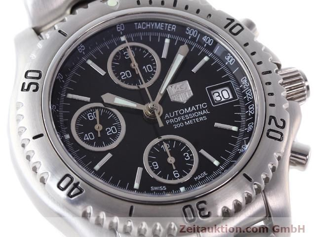 Used luxury watch Tag Heuer Professional steel automatic Ref. CT2111  | 140145 02