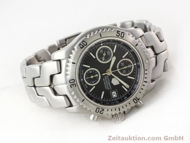 Used luxury watch Tag Heuer Professional steel automatic Ref. CT2111  | 140145 03