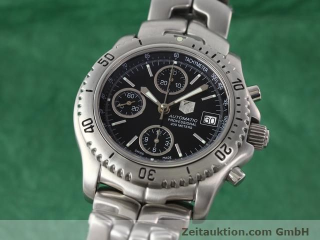 Used luxury watch Tag Heuer Professional steel automatic Ref. CT2111  | 140145 04