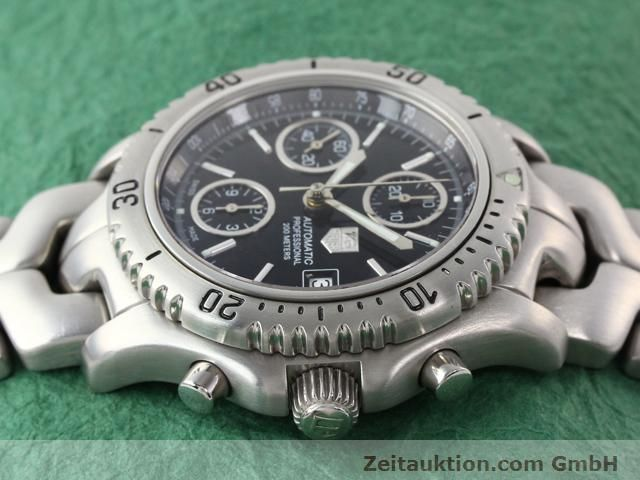 Used luxury watch Tag Heuer Professional steel automatic Ref. CT2111  | 140145 05