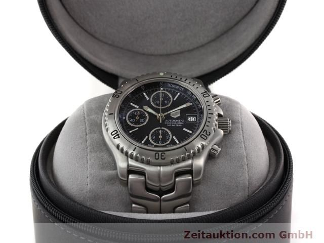 Used luxury watch Tag Heuer Professional steel automatic Ref. CT2111  | 140145 07