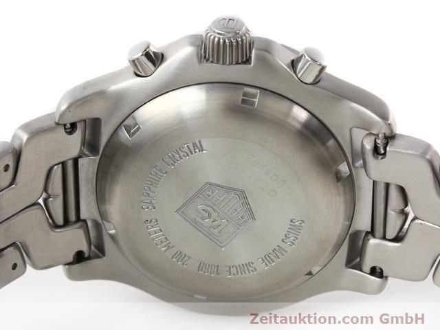 Used luxury watch Tag Heuer Professional steel automatic Ref. CT2111  | 140145 09