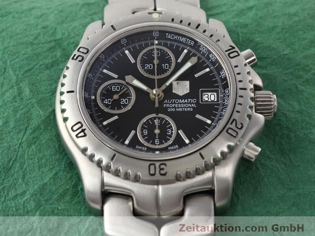 Used luxury watch Tag Heuer Professional steel automatic Ref. CT2111  | 140145 15