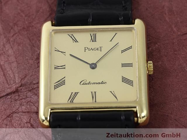 Used luxury watch Piaget * 18 ct gold automatic Kal. 25P Ref. 531  | 140148 16