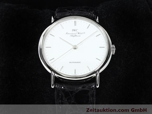 Used luxury watch IWC Portofino steel automatic Kal. 37521 Ref. 3513  | 140149 07