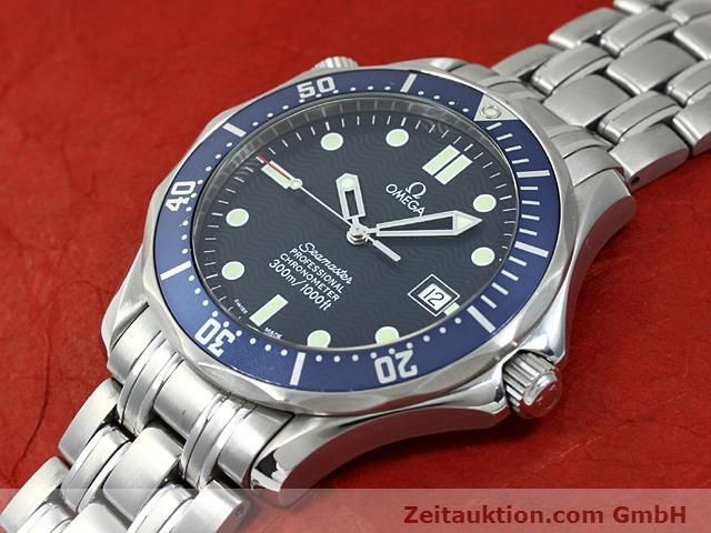 Used luxury watch Omega Seamaster steel automatic Kal. 1120 Ref. 25318000  | 140157 01