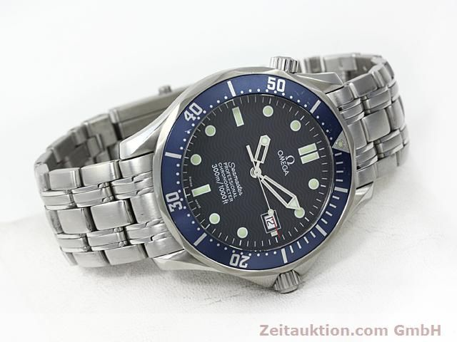 Used luxury watch Omega Seamaster steel automatic Kal. 1120 Ref. 25318000  | 140157 03