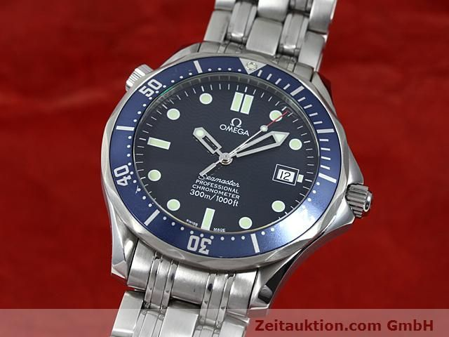 Used luxury watch Omega Seamaster steel automatic Kal. 1120 Ref. 25318000  | 140157 04
