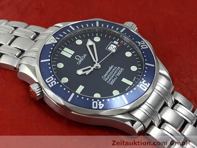 Used luxury watch Omega Seamaster steel automatic Kal. 1120 Ref. 25318000  | 140157 17