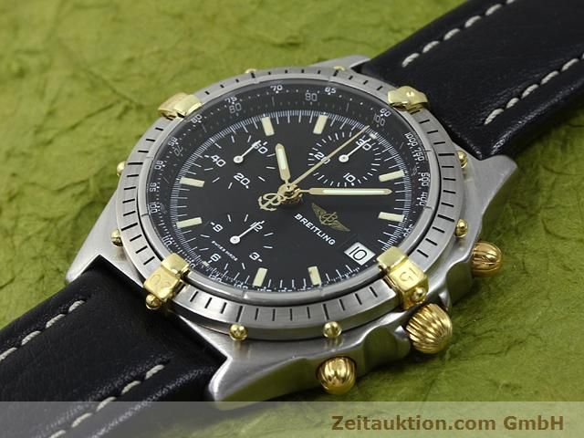 Used luxury watch Breitling Chronomat gilt steel automatic Kal. Valjoux 7750 Ref. 81950A  | 140158 01