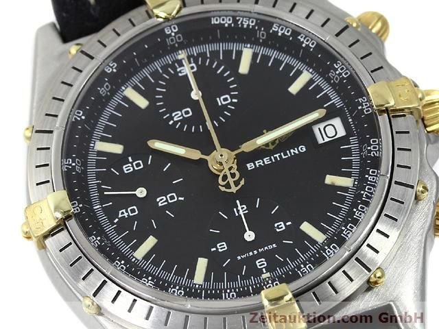 Used luxury watch Breitling Chronomat gilt steel automatic Kal. Valjoux 7750 Ref. 81950A  | 140158 02