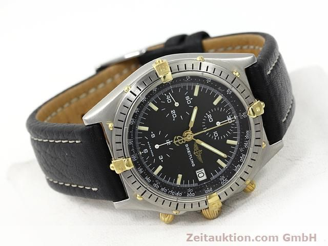Used luxury watch Breitling Chronomat gilt steel automatic Kal. Valjoux 7750 Ref. 81950A  | 140158 03