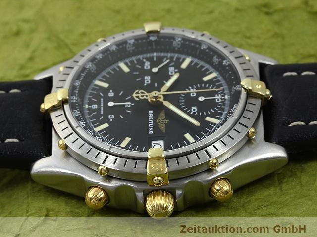 Used luxury watch Breitling Chronomat gilt steel automatic Kal. Valjoux 7750 Ref. 81950A  | 140158 05