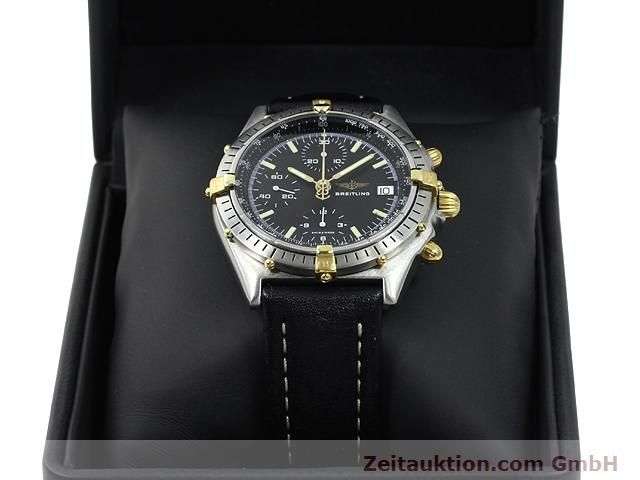 Used luxury watch Breitling Chronomat gilt steel automatic Kal. Valjoux 7750 Ref. 81950A  | 140158 07