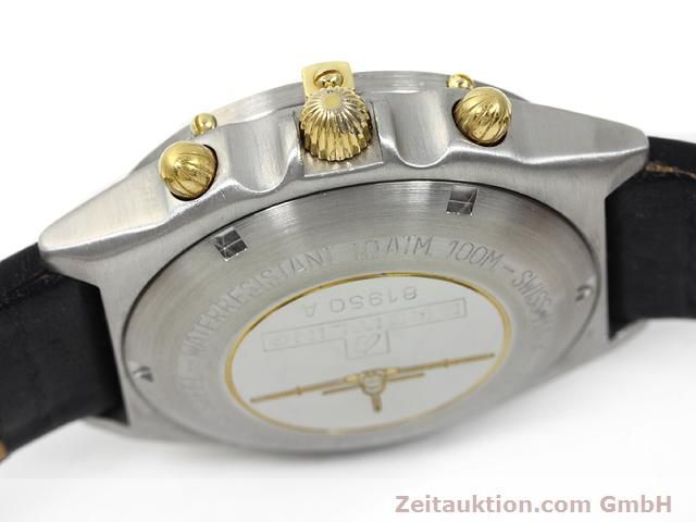 Used luxury watch Breitling Chronomat gilt steel automatic Kal. Valjoux 7750 Ref. 81950A  | 140158 08