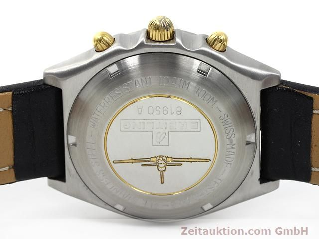 Used luxury watch Breitling Chronomat gilt steel automatic Kal. Valjoux 7750 Ref. 81950A  | 140158 09