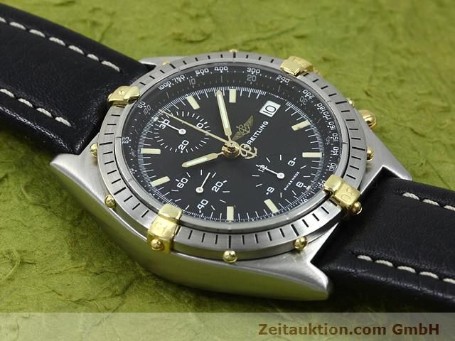 Used luxury watch Breitling Chronomat gilt steel automatic Kal. Valjoux 7750 Ref. 81950A  | 140158 13