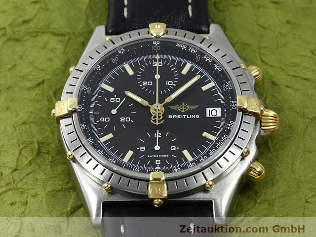 Used luxury watch Breitling Chronomat gilt steel automatic Kal. Valjoux 7750 Ref. 81950A  | 140158 14