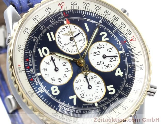 Used luxury watch Breitling Navitimer gilt steel automatic Kal. ETA 2892A2 Ref. D33030  | 140160 02