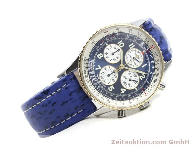 Used luxury watch Breitling Navitimer gilt steel automatic Kal. ETA 2892A2 Ref. D33030  | 140160 03