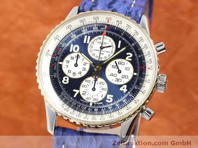 Used luxury watch Breitling Navitimer gilt steel automatic Kal. ETA 2892A2 Ref. D33030  | 140160 04