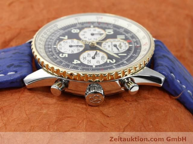 Used luxury watch Breitling Navitimer gilt steel automatic Kal. ETA 2892A2 Ref. D33030  | 140160 05