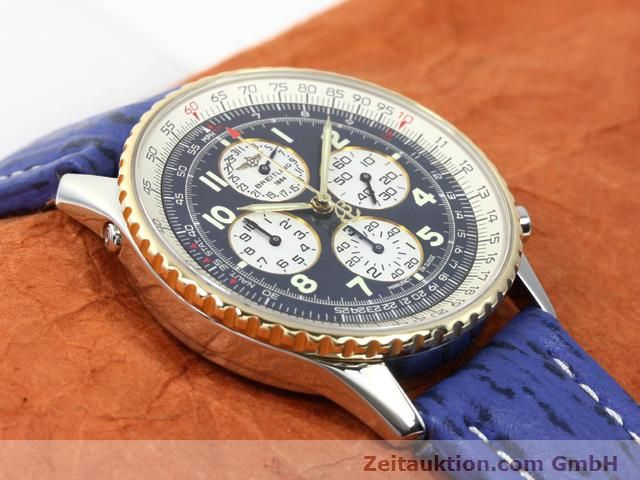 Used luxury watch Breitling Navitimer gilt steel automatic Kal. ETA 2892A2 Ref. D33030  | 140160 14