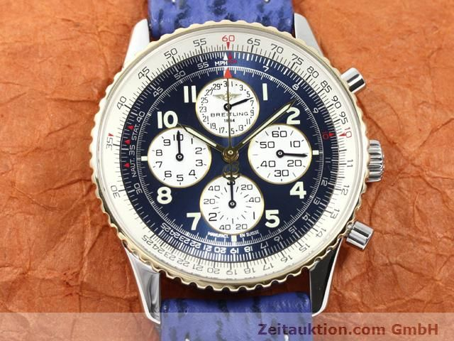 Used luxury watch Breitling Navitimer gilt steel automatic Kal. ETA 2892A2 Ref. D33030  | 140160 15